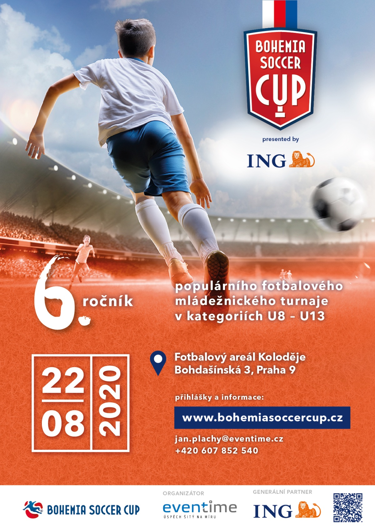 ING Bohemia Soccer Cup 2020