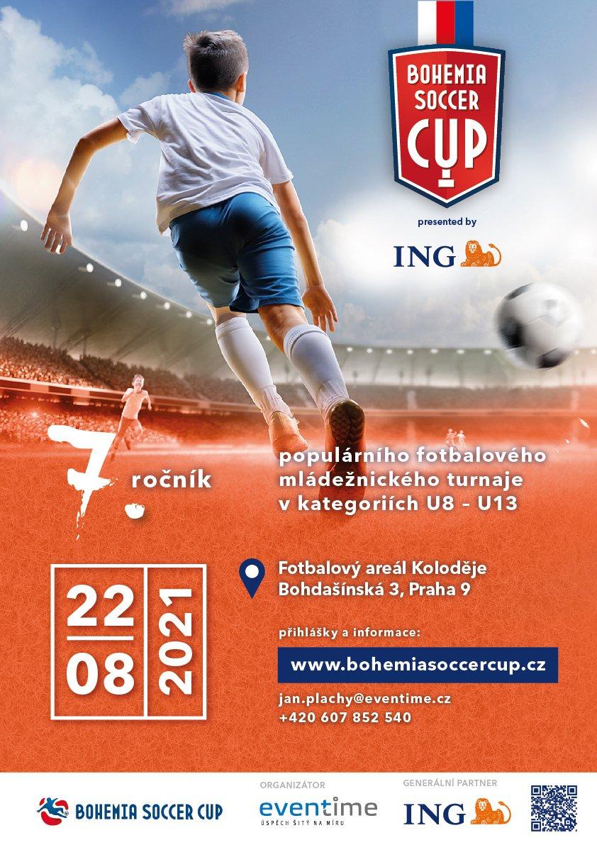 ING Bohemia Soccer Cup 2021