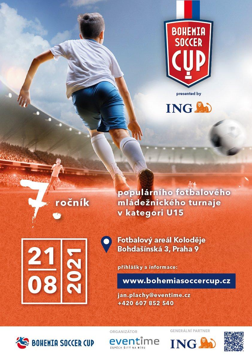 ING Bohemia Soccer Cup 2021 - kategorie U15
