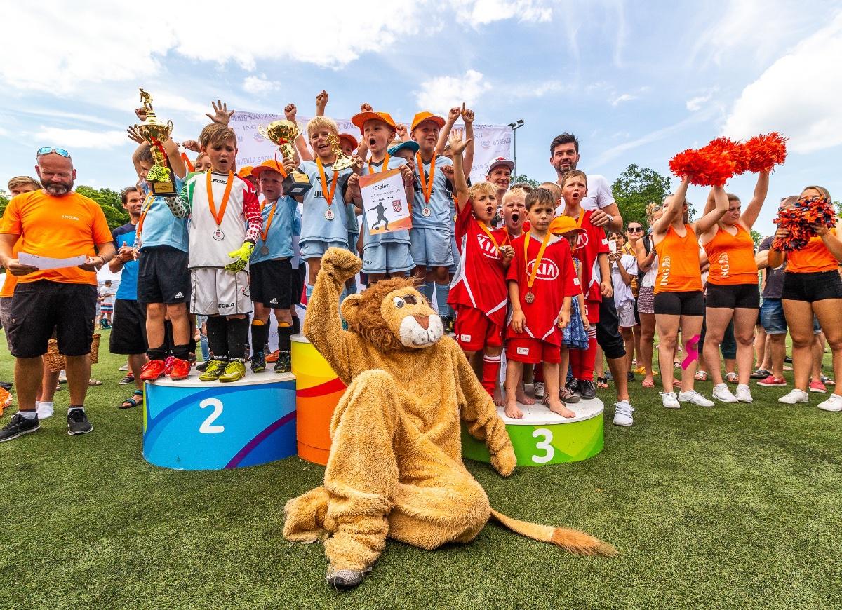 Napínavý fotbal až do konce, takový byl 4.ročník ING Bohemia Soccer Cup