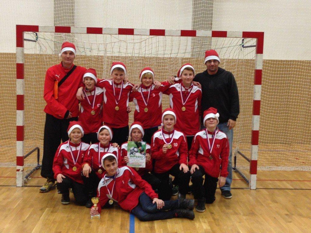 Vítězný tým FC VIktoria Plzeň v kategorii U13