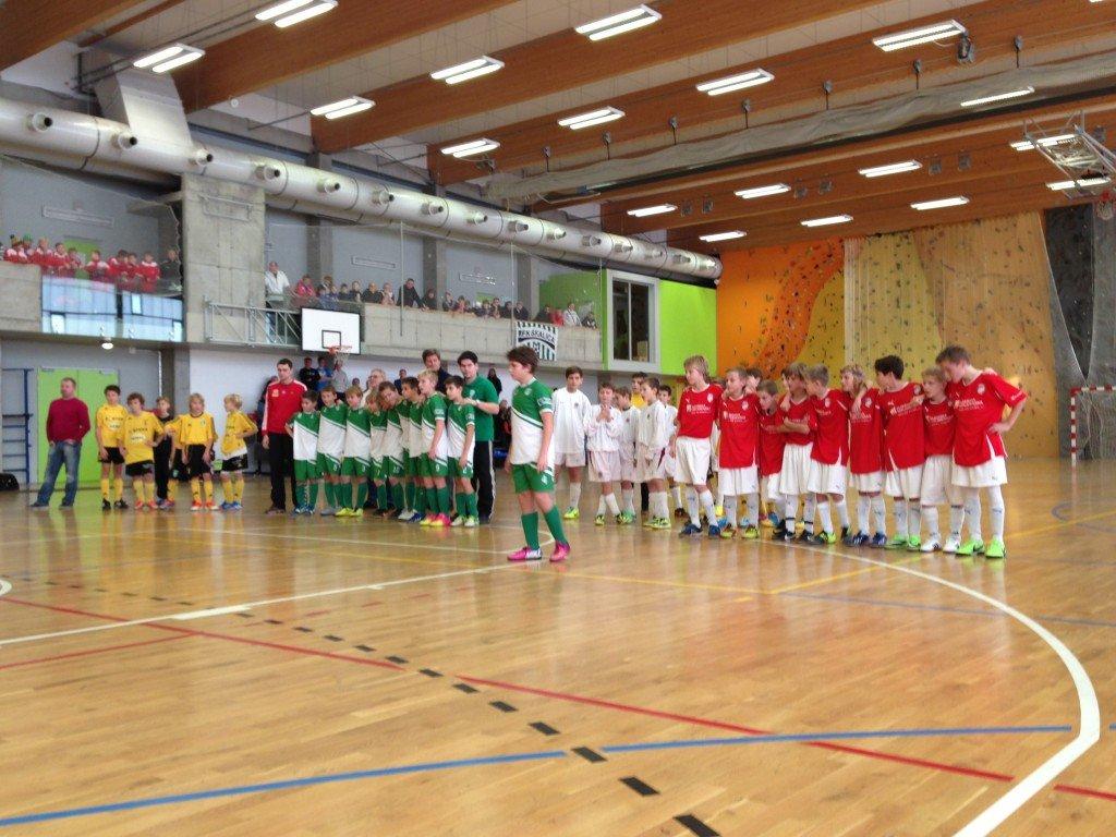 Mikulášský turnaj v kategoriích U12 a U13 přinesl nadílku Bohemians Praha 1905 a FC Viktoria Plzeň!