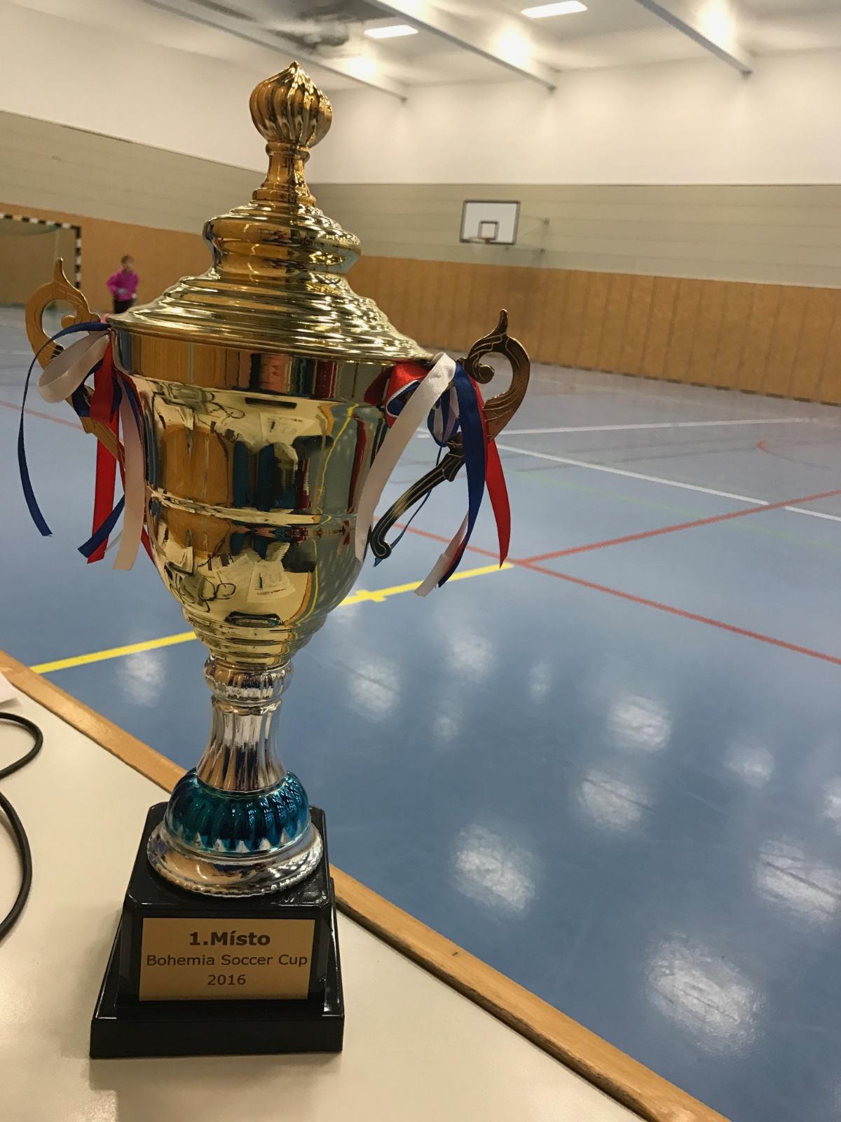 4.ročník mládežnického halového turnaje Bohemia Soccer Cup 2016 přivítal více než 300 dětí z celé ČR