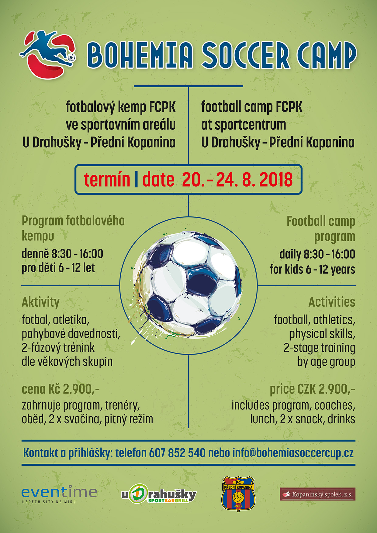 Bohemia Soccer Camp
